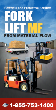 Forkliftmf.com Forklifts, Manual Stackers, Power Stacks, Specialty Lifts, TCM, Vestil, Omega, Genie and more from Material Flow