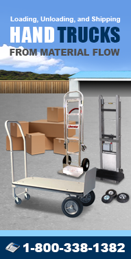Hand-Truck.net Steel Handtrucks, Aluminum Hand Trucks, Appliance Trucks, Vending Machine Hand Trucks, Elevating Carts, Beverage Hand Trucks and more from Material Flow