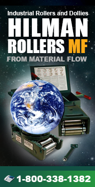 Hilman Rollers - Rollers, Movers, Dollies, Jacks, and more from Material Flow