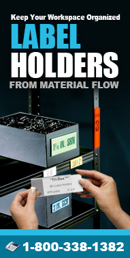 Label-Holders.net Insertable Label Holders, Magnetic Label Holders, Bin Labels, Shelving Label Holders and more from Material Flow