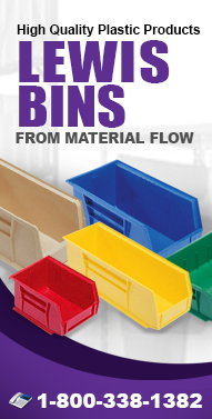 Lewis-Bins.com Storage Bins, Storage Cabinets, Plastic Bins, Dividers, Containers, Shelf Bins and more from Material Flow