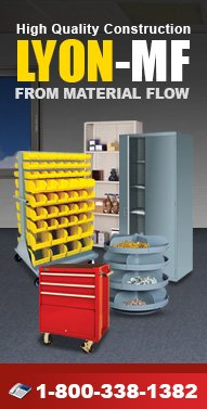 Lyon Industrial Products - Lockers, Cabinets, Carts, Shelving, Workstations & more.