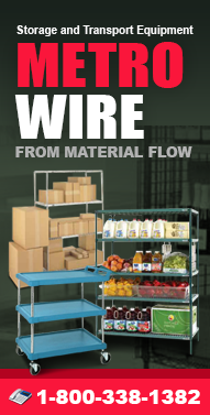 Metro-Wire.com Wire Carts, Wire Shelving, Casters, Lab Furniture, Work Centers and more from Material Flow