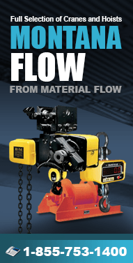 MontanaFlow.com Forklifts, Hoists, Lifts, Cranes, Rigging parts, Jib Cranes, Winches, Forklift Trucks and more from Material Flow