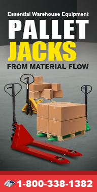 Pallet-Jack.org Electric Pallet Jacks, Corrosion REsistant Pallet Jacks, Lift and Tilt Pallet Jacks, Powered Pallet Jacks and more from Material Flow