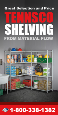 Tennsco-Shelving.com Cabinets, Lockers, Carts, Shelving, Bookcases, Workbenches, Tire Racks and more from Material Flow