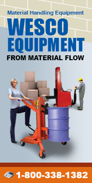 Wesco-Equipment.com Platform Trucks, Drum Equipment, Lift Equipment, Hand Trucks, Lift Tables and more from Material Flow